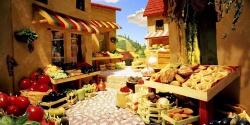 Krajina z jídla